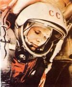 Yuri Gagarin in capsule