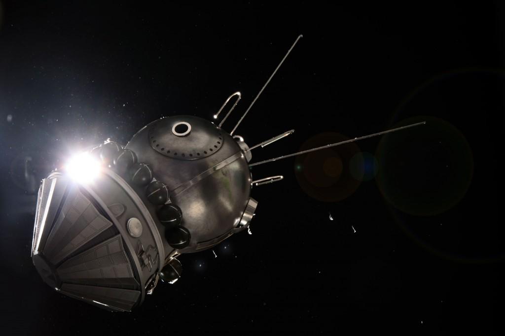 Vostok (Boctok) space capsule model