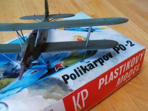 Polikarpov PO2 model biplane kit