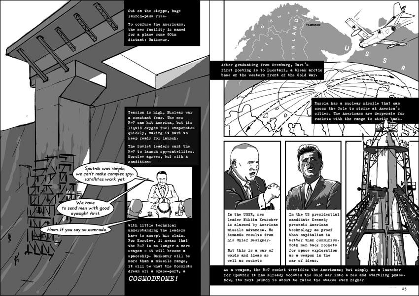 Khazakstani cosmodrome_Kruschev_Kennedy_coldwar