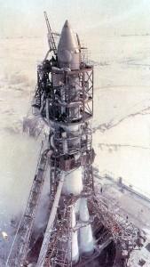 Vostok gantry