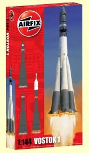 airfix scale model kit vostok rocket