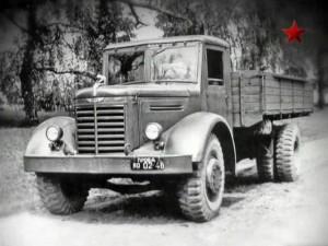 YaAZ 200 soviet truck