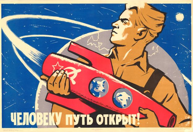The Road Open For Humans – Belka & Strelka the first dogs to return from Earth orbit poster