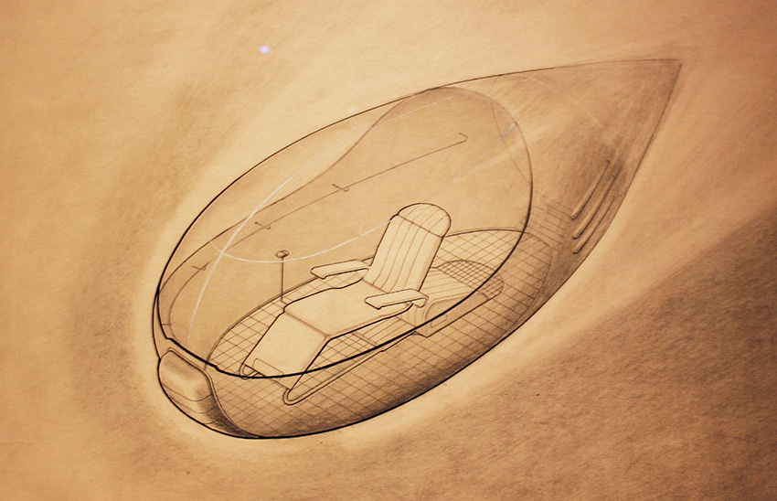 space travel concept vehicle