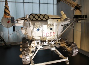 LunokHod 1 lunar roving vehicle (model 1970)